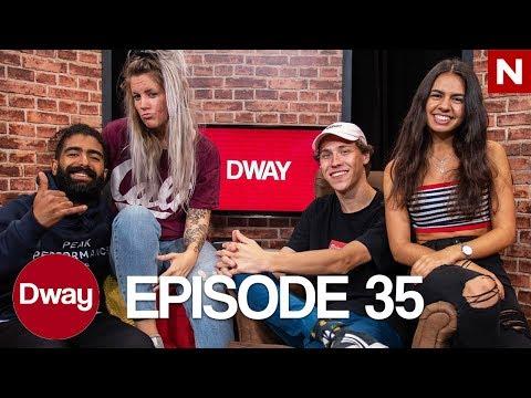 DWAY – EPISODE 35 | TIX, Yogaøvelser, Momo, Betterhelp, Emojiquiz