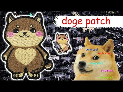 Evike.com Doge Patch – much amaze
