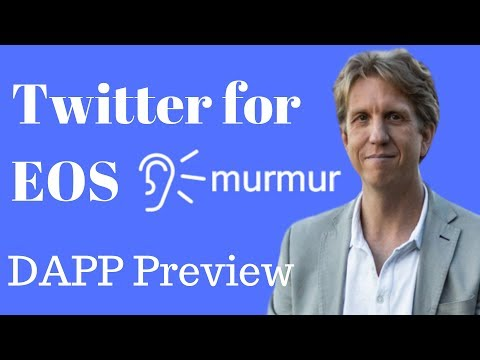 Twitter on EOS – Murmur, Airdrop Incoming! DAPP Preview