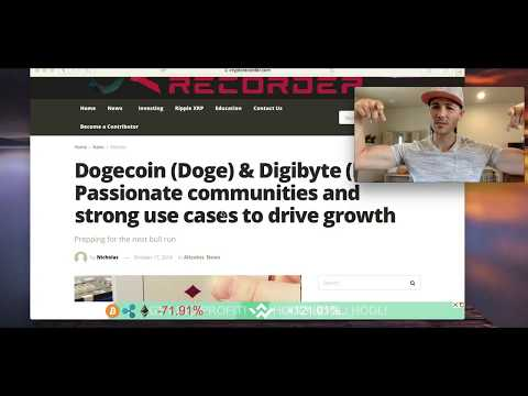 DOGECOIN (DOGE) and DIGIBYTE (DGB) EXPECTED TO RALLY IN THE NEXT BULL RUN!!