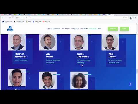 Get ATHERO Tokens Join Airdrop