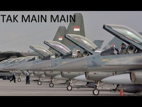 NEW !! Ada Apa NI Tak Main main TNI Siap Kirim Pesawat TMPUR Dengan Skala Besar Menuju Australia