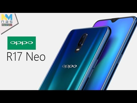 OPPO R17 Neo มาพร้อมชิป Snapdragon 660 ,จอไร้ขอบทรงหยดน้ำ 6.41 นิ้ว ,สแกนนิ้วใต้จอ!
