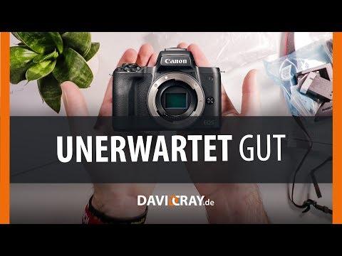 ⭐ UNBOXING & kleines Fazit zur Canon EOS M50 ⭐? Besser als eine 1100€ Kamera?! I David Cray