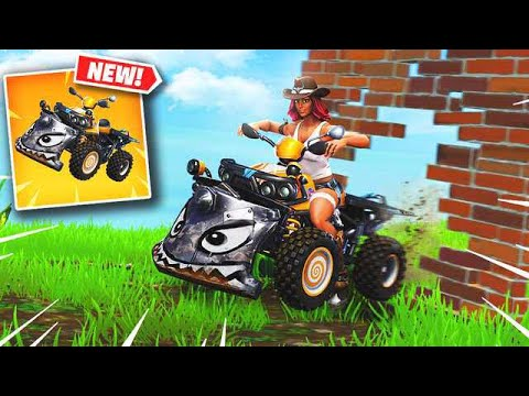 *NEW* QUAD CRASHER VEHICLE IN FORTNITE IS OP! (Fortnite Battle Royale) Fortnite Epic & Funny Moments