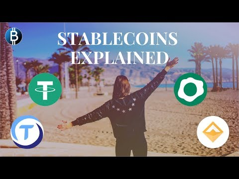 Stablecoins Explained For Dummies! (Overview Of Cryptocurrency Stablecoins)