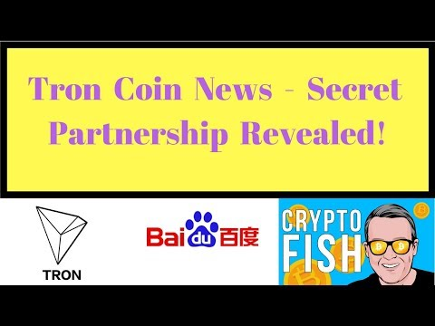 Tron Coin News – Secret Partnership Revealed!