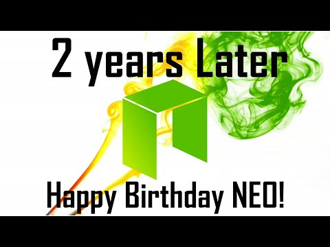 Neo: 2 Years later | Happy Birthday $NEO