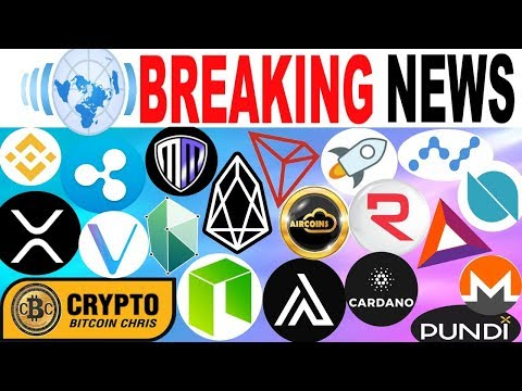 "NEW FACTS: TRON's $72b ""Partner""🔸Billionaire: Jumps in Crypto!🔸SEC's new ICO office!🔸NEO fork FUD"