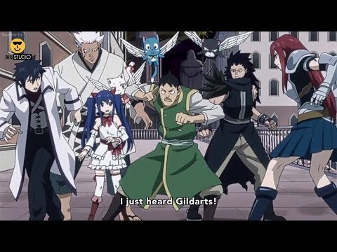 "フェアリーテイル "" Team Fairy Tail vs Neo-Oracion Seis part 2 "" Fairy Tail ss1_Funny Moments #31 HD"