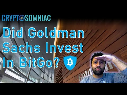 Goldman Sachs Invest In Bitgo? 🤔 | Cryptocurrency Technical Analysis