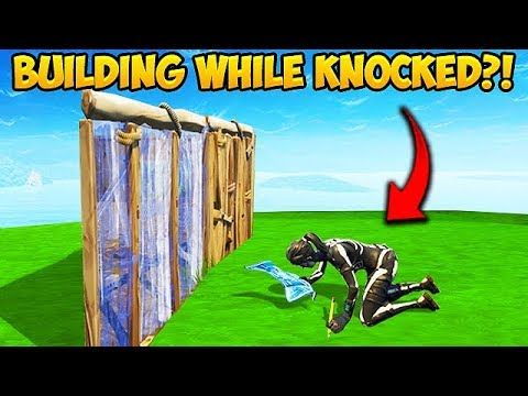 *NEW* BUILD WHILE KNOCKED TRICK! – Fortnite Funny Fails and WTF Moments! #356