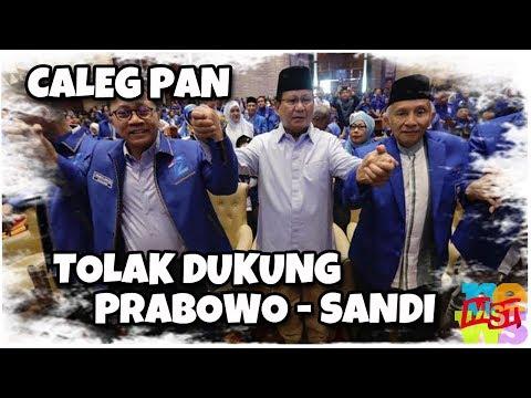 Makin Melempem! Banyak Caleg PAN Tolak Dukung Prabowo, Sekjen PAN: Tidak Ada Untungnya untuk PAN!
