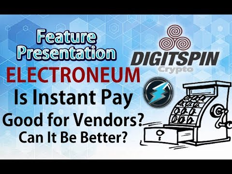 Electroneum Coin Instant Crypto Payment, is it good for Vendors? Future Prediction?