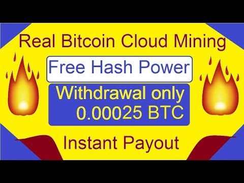 New Free Bitcoin Mining Site Of 2018 ! Free Hash Power | Instant Withdraw |