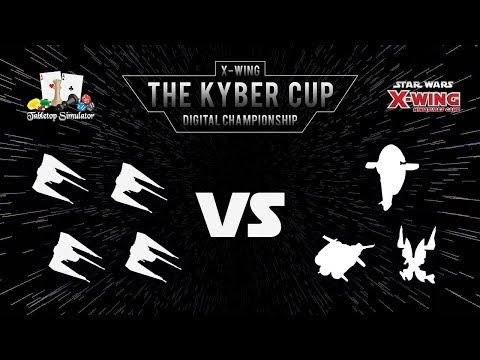 The Kyber Cup 2018 | X-Wing 2nd Edition | Top 8 | Hand of Vecna vs. WeiYanZhou
