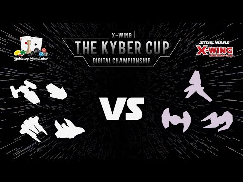 The Kyber Cup 2018 | X-Wing 2nd Edition | Top 4 | Saix vs. LarryLobbler
