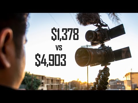 Canon EOS R vs M50 Vlog Camera