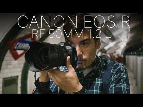 Canon RF 50mm f1.2 + Canon EOS R en antigua estación de Metro