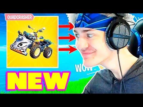 Ninja Reacts to *NEW* QUADCRASHER CAR BEST PLAYS BCC Trolling