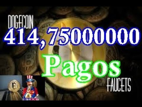 SpeedDoge Paga 414,75000000 DOGECOIN Faucet 2018