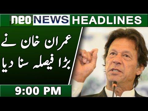 Neo News Headlines | 9 : 00 Pm | 19 October 2018 | Neo News