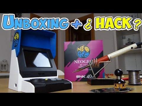 Neo geo mini, unboxing análisis e intento de hack de la versión internacional