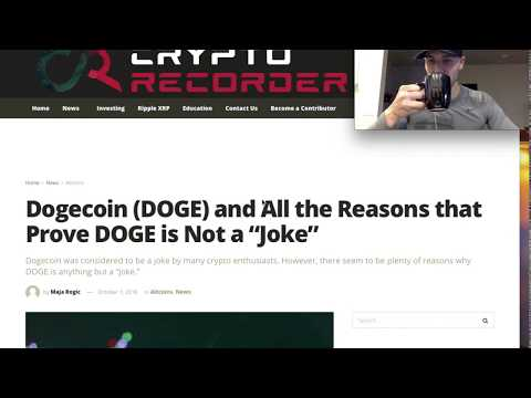 DogeCoin (DOGE) NEWS TODAY Oct. 2018