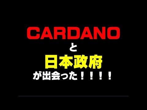 CARDANO と 日本政府 が出会った!!!!仮想通貨(ADA)で億り人を目指す!近未来戦士ヒロミの暗号通貨ライフ