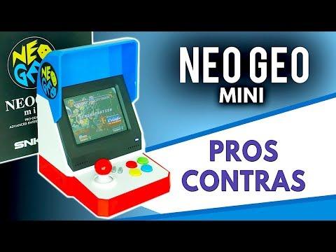 NEO GEO Mini  |  Unboxing –  PROS  y  CONTRAS