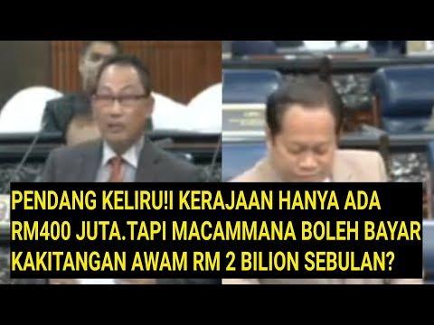 Parlimen 2018:Pendang Pertikai Bagaimana Negara Diuruskan Dengan Hanya Ada RM400 Juta