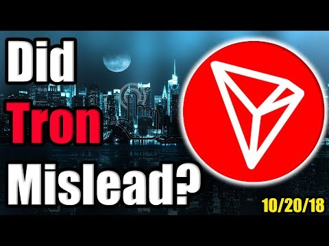 Did Tron Mislead Investors by Claiming Partnership w/ Baidu? Plus Cardano & BAT Announcements!