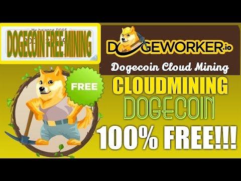 dogeworker Cloud Mining Free Dogecoin khmer 2018