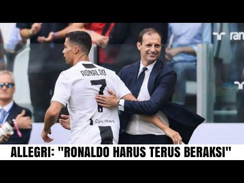 """Pelatih Juventus, Allegri: """"Tak Ada Alasan Istirahatkan Ronaldo, Dia Harus Terus Beraksi"""""""