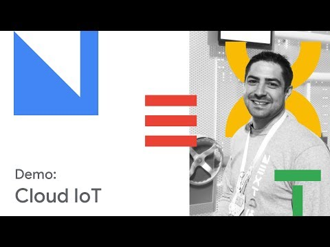 Industrial Asset Maintenance with Google Cloud IoT and AR (Cloud Next '18)
