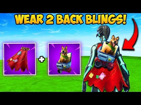 *NEW TRICK* WEAR 2 BACK BLINGS AT ONCE! – Fortnite Funny Fails and WTF Moments! #358
