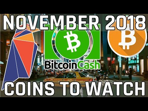 3 Cryptocurrencies to Watch in November 2018 (Cryptocurrency Picks)