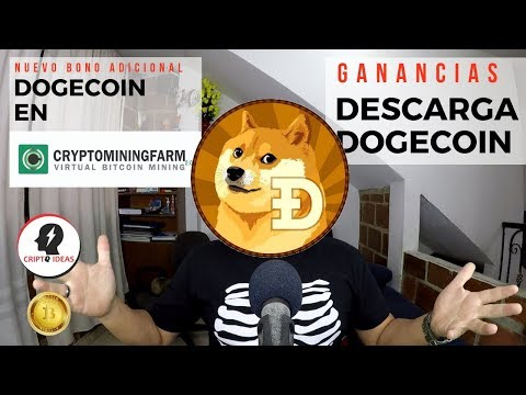CRYPTOMINIGFARM Y DOGECOIN – NUEVO BONO CON DOGECOIN – COMO GANAR DOGECOIN EN CRYPTOMININGFARM