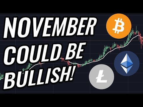 Why November Will Be Bullish For Bitcoin & Crypto Markets! BTC, ETH, BCH, LTC & Cryptocurrency News!
