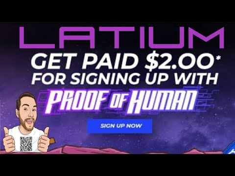 Latium – Proof of Human – A Cryptocurrency Verification Blockchain Identity Gamifying Tasks