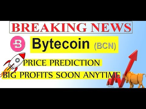 BYTECOIN BCN PRICE PREDICTION BIG PROFITS SOON ANYTIME  | BYTECOIN MINING  #BCN  #GAMESZCRYPTO
