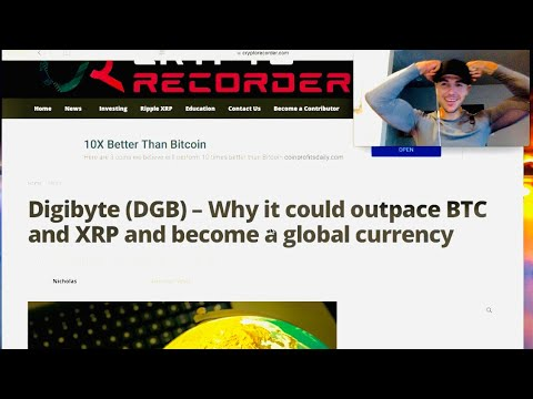 DigiByte (DGB) HUGE NEWS!! OCT. 2018 how it could outpace Bitcoin (BTC) & Ripple (XRP) – Globally!