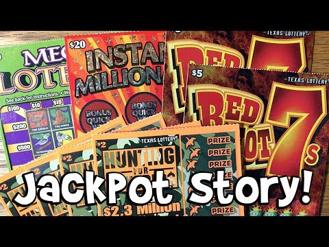 2.5 Million JACKPOT STORY with a MIX of TIX! ✦ TEXAS LOTTERY Scratch Off Tickets
