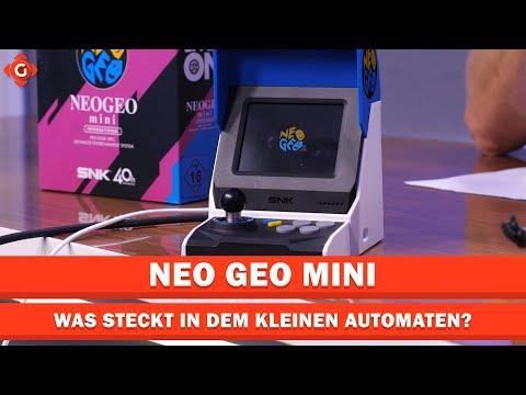 Neo Geo Mini: Was steckt in der kleinen Arcade-Maschine? | Special