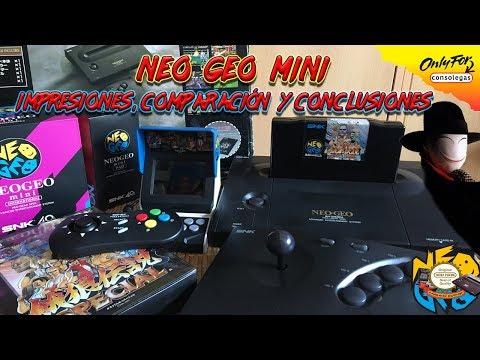 Neo Geo Mini – Impresiones, comparación y conclusiones