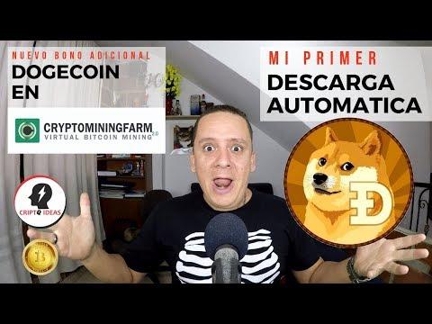 CRYPTOMININGFARM MI PRIMER PAGO AUTOMÁTICO CON DOGECOIN – PAGO DOGECOIN A CRYPTOPIA SI PAGA