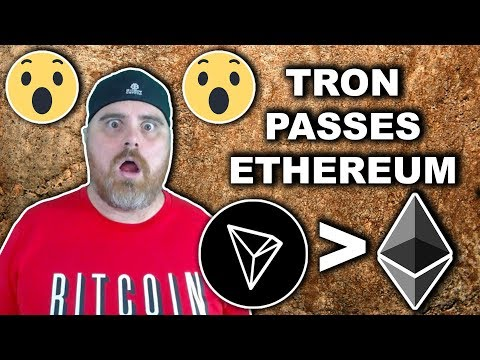 Tron Passes Ethereum | TRX Technicals Matching the Hype?