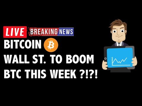 Wall St. to Boom Bitcoin (BTC) This Week?! – Crypto Market Technical Analysis & Cryptocurrency News