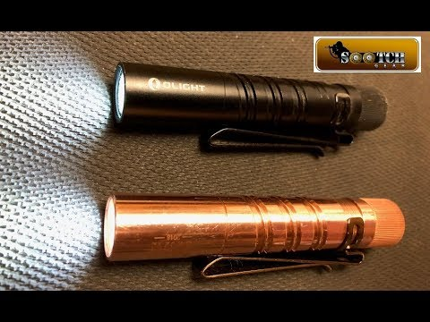 Olight I3T Eos Limited Edition Copper 25% Off Flash Sale