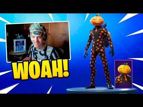 NINJA REACTS TO *NEW* JACK GOURDON SKIN! (Fortnite Battle Royale) Fortnite Epic & Funny Moments